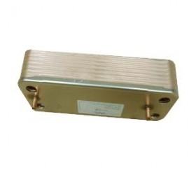 Echangeur sanitaire 14 plaques GMS 24 ZENA MS 24
