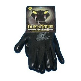 Paire gants BLACKMAMBA nylon/nitrile