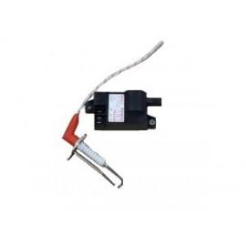 Transformateur d'allumage avec électrode