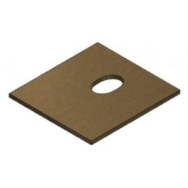Panneau vermiculite 280x260x10 mm